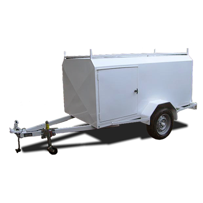 Enclosed Luggage Trailer